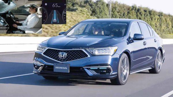 Honda Legend Sedan With Level 3 Autonomous Driving Feature