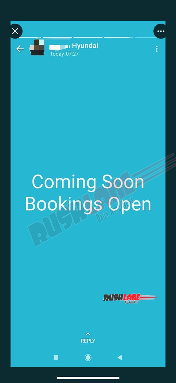 Hyundai Alcazar Bookings Open