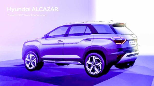 2021 Hyundai Alcazar Teaser
