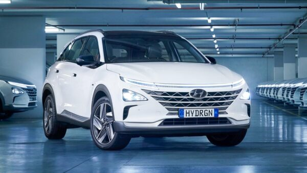 Hyundai Nexo Hydrogen Powered Car