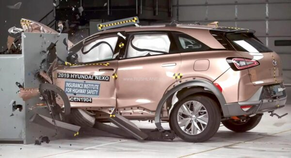 Hyundai NEXO has been crash tested by IIHS