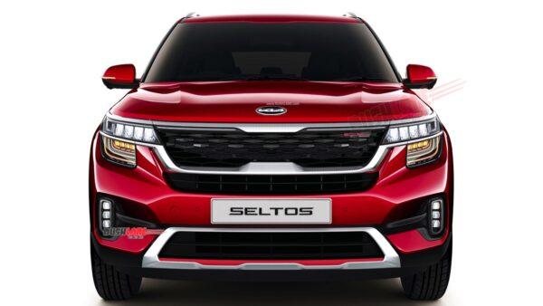 Kia Seltos New Logo - Render