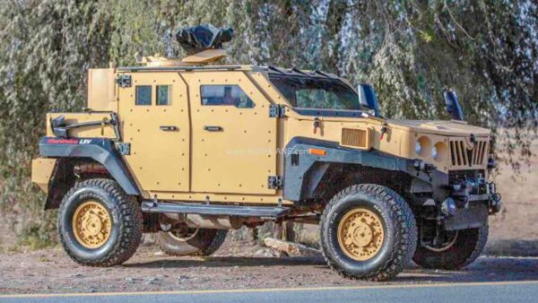 Mahindra Armored Light Specialist Vehicle (ALSV)