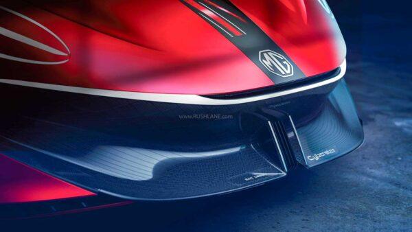 MG Cyberster Sportscar Teaser