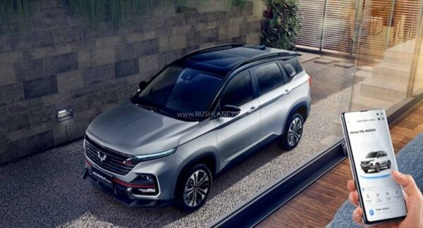 Wuling Almaz RS with ADAS