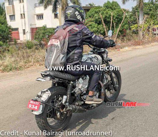 Yezdi Roadking Testing