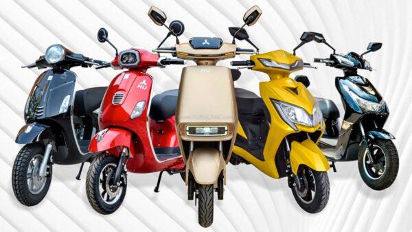 NIJ Automotive Electric Scooters