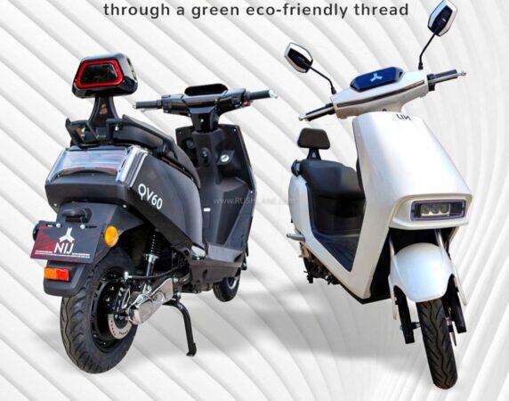 NIJ QV60 Electric Scooter