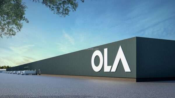 Ola Electric Scooter Plant - Digital Render