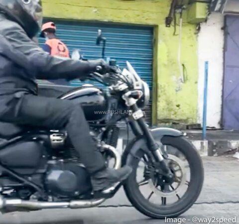 RE 650cc cruiser
