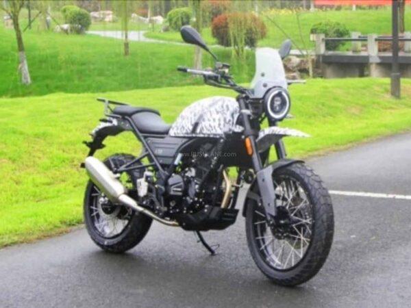 Royal Enfield Himalayan Copycat Motorcycle From China Called Hanway G30