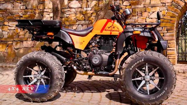 Royal Enfield Himalayan Modified Into a 4 Wheel ATV