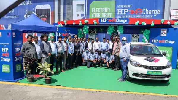 Electric Vehicle Charging Station At Pune Mumbai Expressway