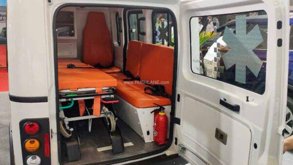 Tata Magic Ambulance