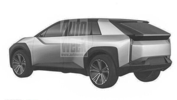 Toyota Electric Crossover Teaser