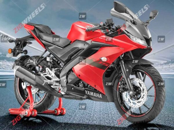 2021 Yamaha R15 Red Colour