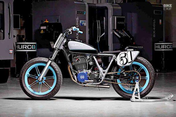 Yamaha SR500 Flat Tracker Custom Motorcycle