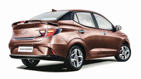 Hyundai Aura Rear Spoiler