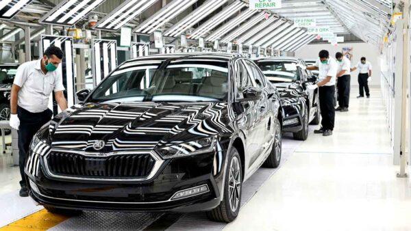 2021 Skoda Octavia production starts in India