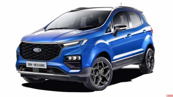 2022 Ford EcoSport render