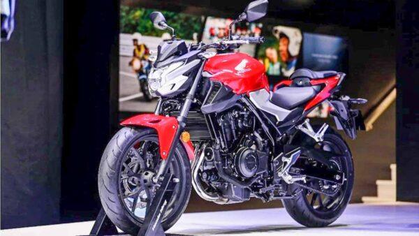 2022 Honda CB400F