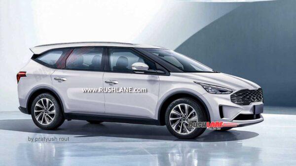 New Kia MPV for India - Render
