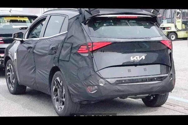 2022 Kia Sportage Spy Shot