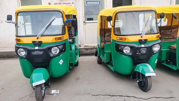 Bajaj Rickshaw Sales March 2021