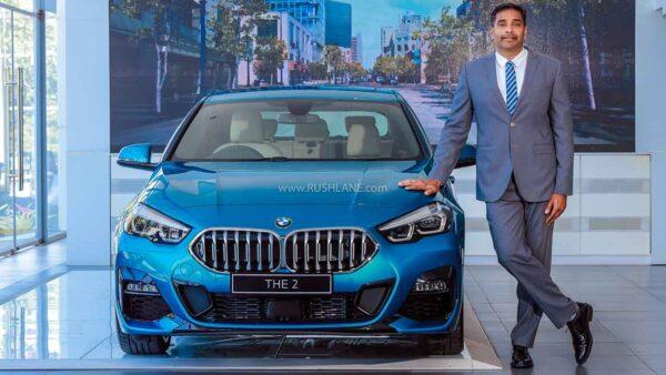 BMW India Car Sales March 2021