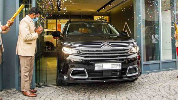 CItroen C5 Aircross Deliveries Start In India
