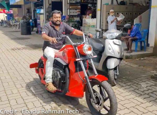 Custom Electric Bobber Motorcycle