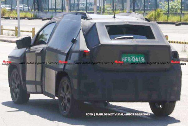 Fiat Argo Based SUV - Project 363