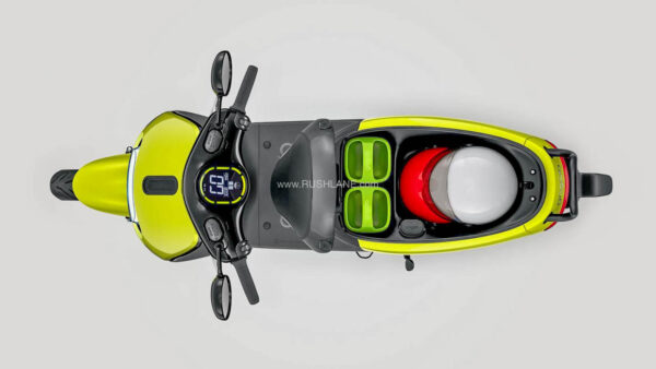 Gogoro Electric Scooter swappable battery