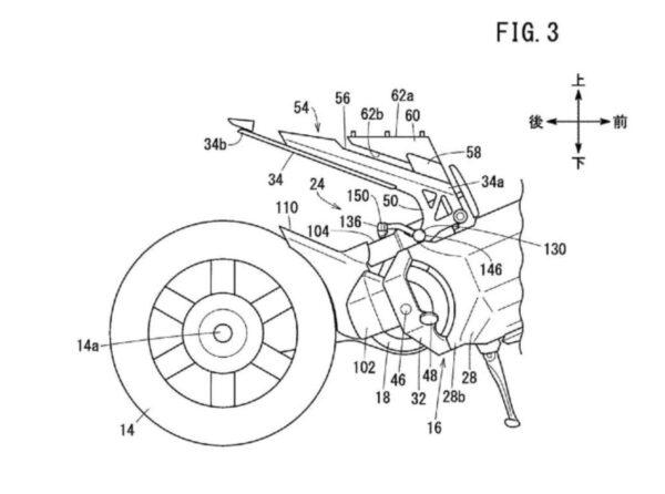 Honda Electric Motorcycle Patent Leaks