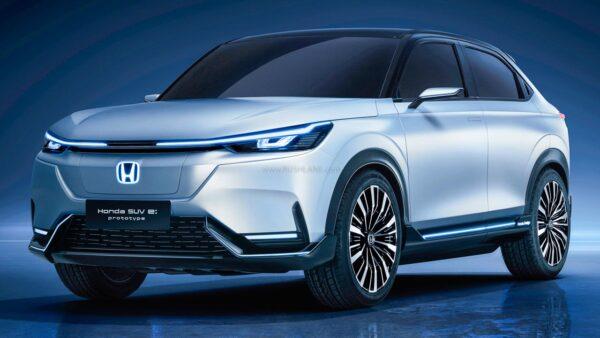 Honda HRV inspired electric SUV - e:prototype