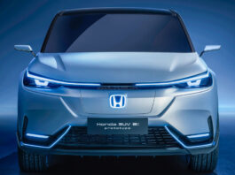 Honda HRV inspired electric SUV - e:prototype