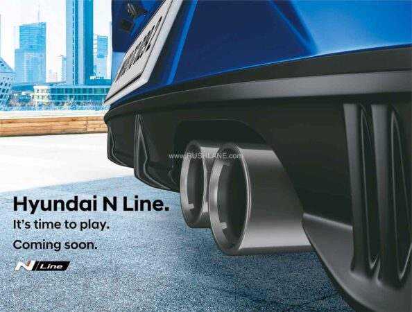 Hyundai i20 N Line Teaser
