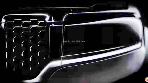 Jeep Compass 7 seater Teaser