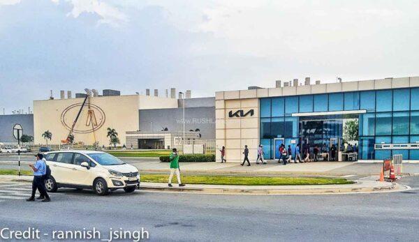 Kia India plant getting the new logo