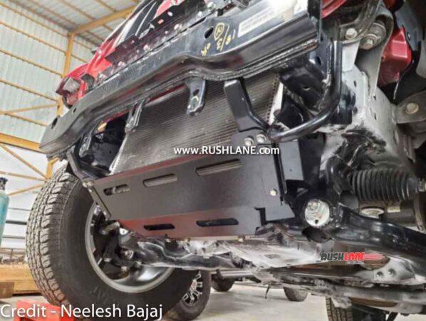 Mahindra Thar Genuine Accessory to protector radiator