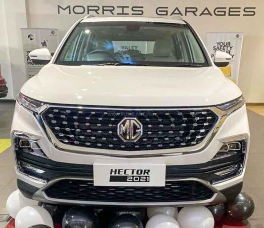 MG Hector Handling Charges
