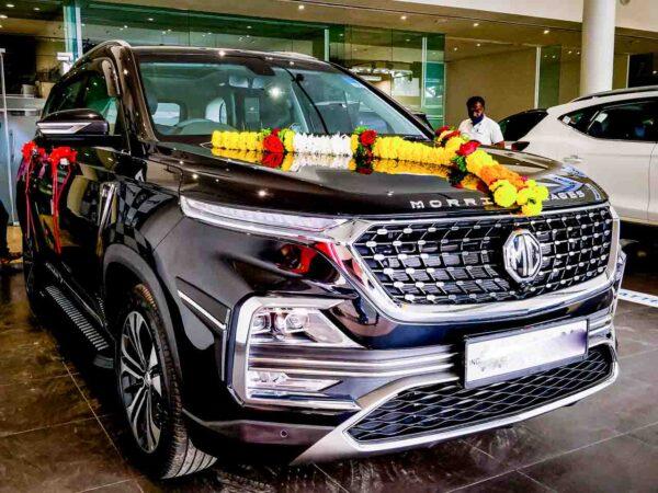 MG Hector Sales March 2021