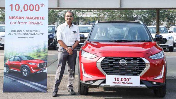 Nissan Magnite 10k Production Milestone