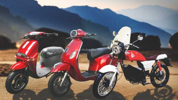 RedMoto XEV electric scooter and motorcycle