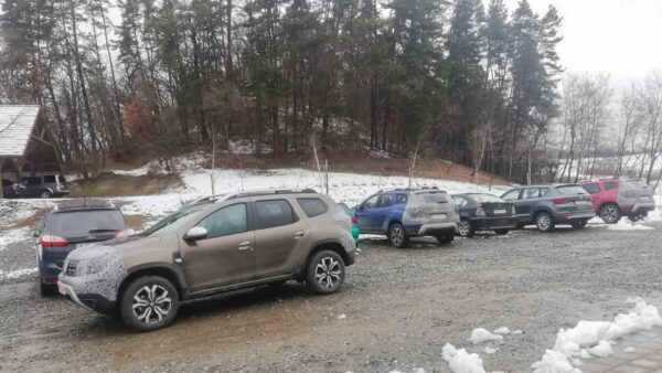 2022 Renault Grand Duster and Duster spied together