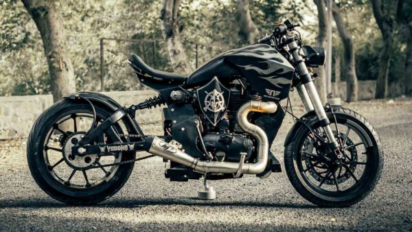 Royal Enfield Modified By Neev Motorcycles