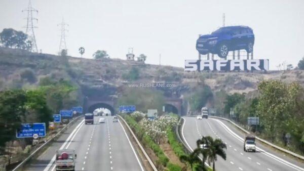 Tata Safari Hoarding