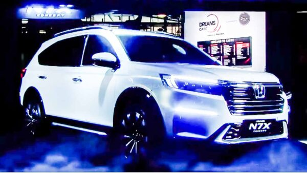 Honda N7X Concept SUV