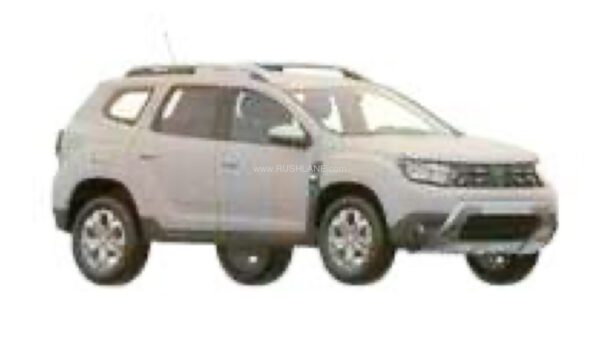 New Gen Duster design patented in India