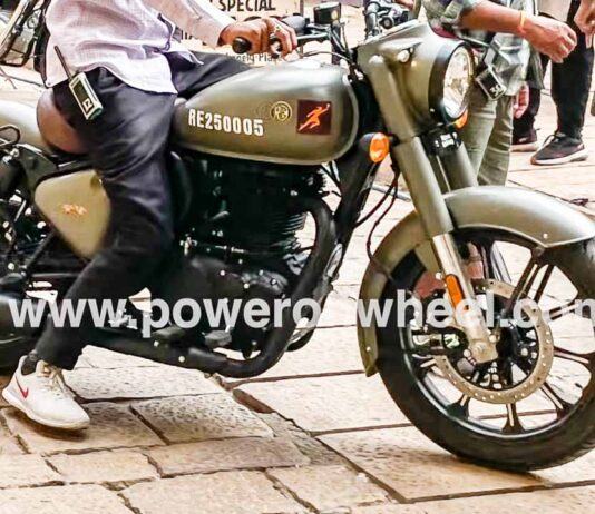 2021 Royal Enfield Classic 350 Signals Edition Spied For First Time